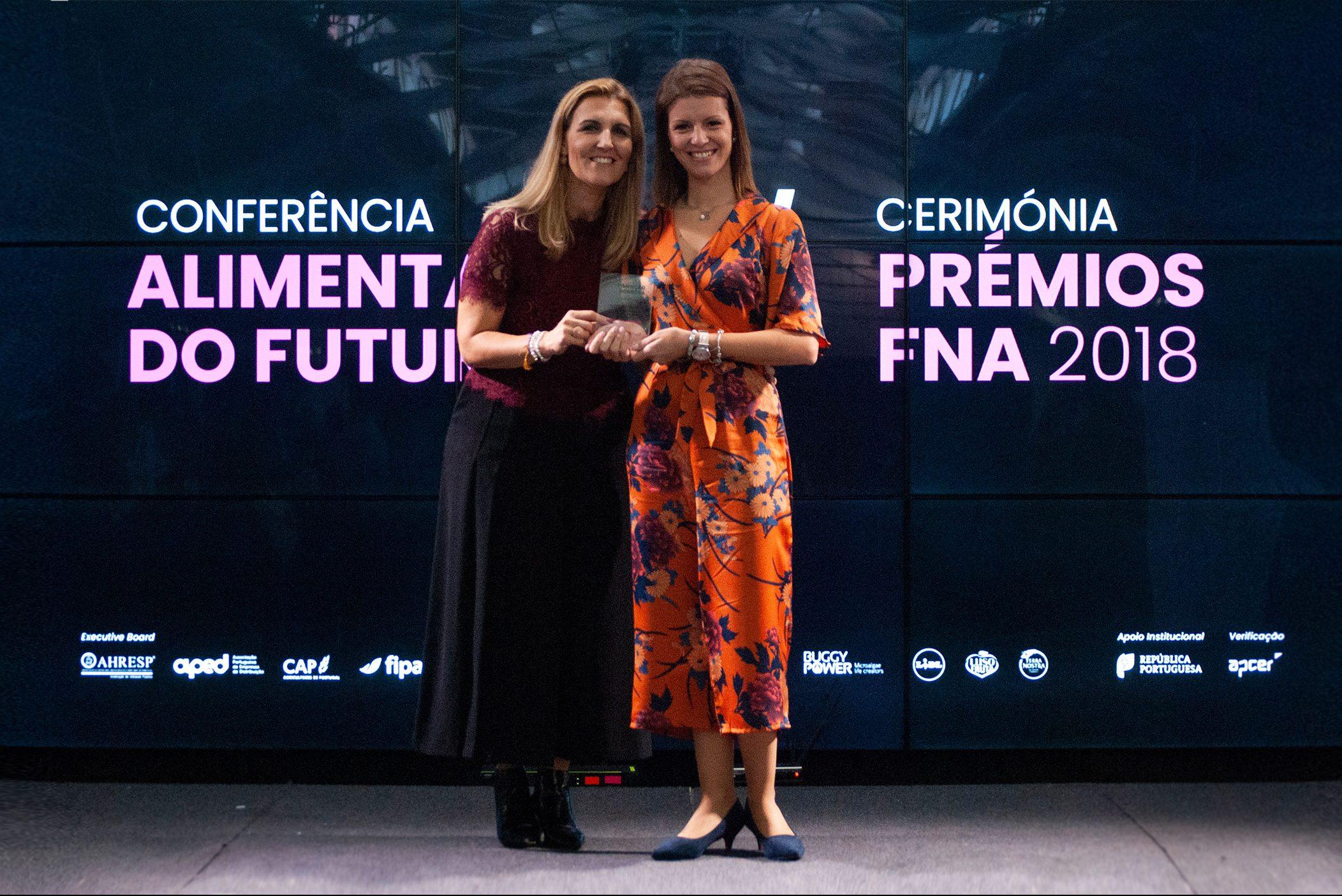 1ª Menção Honrosa no Nutrition Awards pela 2ª vez consecutiva