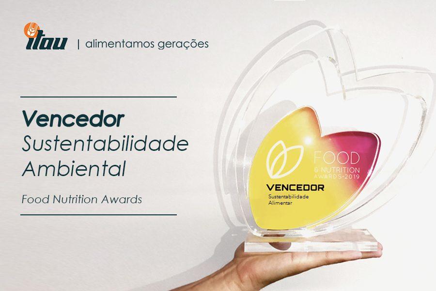 Vencedor Categoria Sustentabilidade Ambiental – Food Nutrition Awards